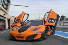 McLaren MP4-12 op Paul Ricard, BlancPain tests